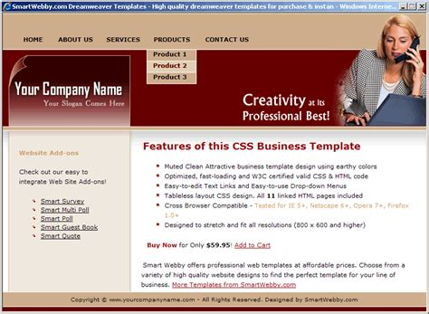 earthy business template