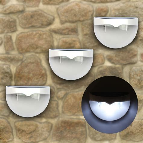 6 led solar powered outdoor wall light best solar garden