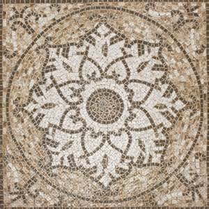 tuscan medallion 24x24 ceramic mosaic glazed tilesbay com