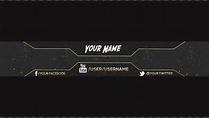 youtube channel banner best business template With youtube channel picture template