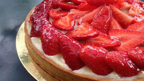 tarte aux fraises vegetalienne recipe dishmaps