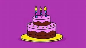 Dessin Gateau Anniversaire : apprendre dessiner un g teau d 39 anniversaire youtube ~ Melissatoandfro.com Idées de Décoration
