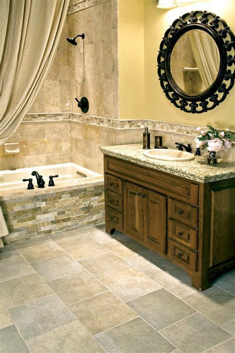 beaucoup didees en  pour une salle de bain beige