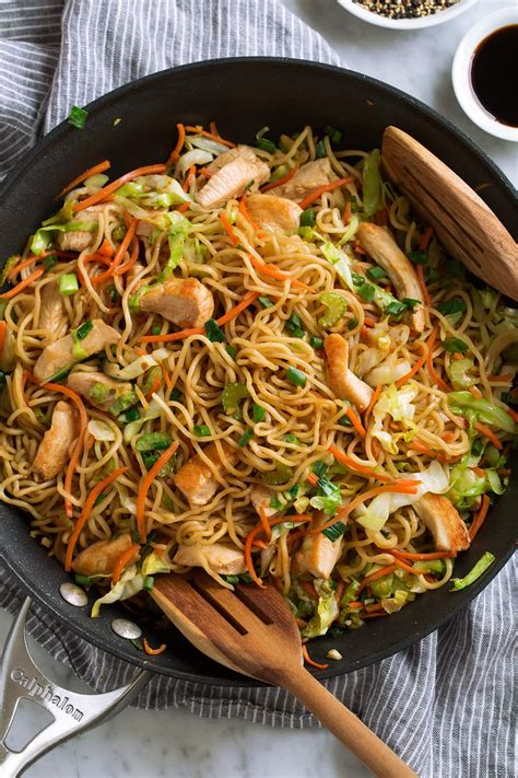 chicken chow mein recipe cooking classy