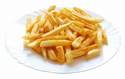Fries French Transparent Chips Plate Potato Restaurant