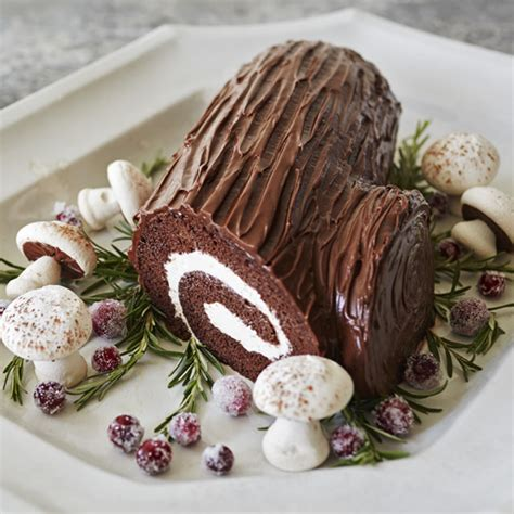 buche de noel recipe hallmark ideas inspiration