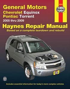 Chevrolet Equinox  U0026 Pontiac Torrent Haynes Repair Manual
