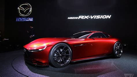 mazdas gorgeous rx vision concept revives  rotary engine  verge