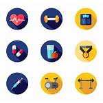 Gym Fitness Icon Exercise Icons Transparent Packs