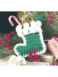 Free Crochet Pattern Christmas Socks