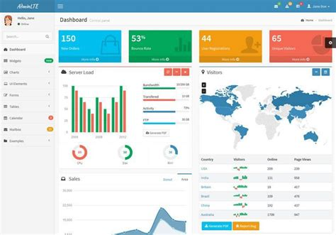 bootstrap4 0 admin template free 20 free bootstrap admin dashboard themes web