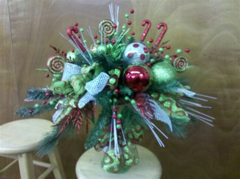 christmas whimsical table centerpiece grinch holiday