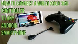 How To Connect Your Wired Xbox 360 Controller To Any