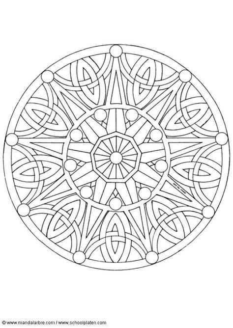 Boeddha Kleurplaten Voor Volwassenen by Kleurplaat Mandala 1702b Afb 4518 Images