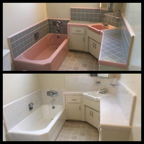 quick  easy bathroom makeover bathtub refinishers