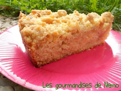 cuisine rhubarbe gâteau crumble pommes poires les gourmandises de némo