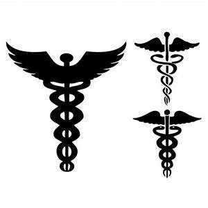 Vector Caduceus signs, vector graphics - VectorHQ.com