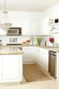 White Cabinets Countertops Kitchen by White Kitchen Cabinets With Granite Countertops