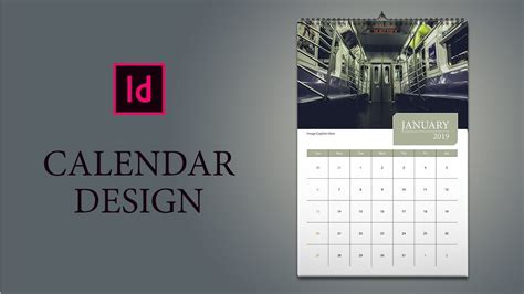 kalender maken indesign kalender