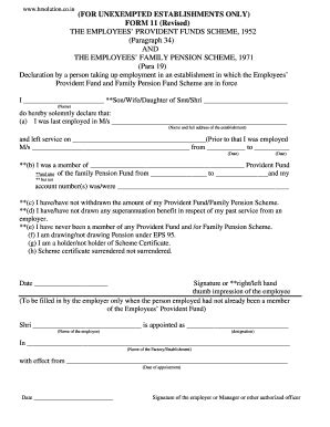 sle filled pf form 11 revised fill online printable fillable blank pdffiller