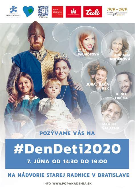 PRESUNUTÉ NA 7.6. - Deň detí 2020 na nádvorí Starej ...