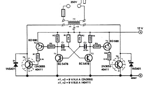 Simplest Watt Inverter Circuit For The Newcomers