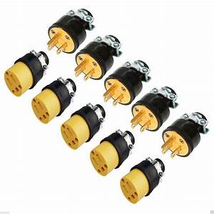 5pc Male  U0026 5pc Female Extension Cord Replacement