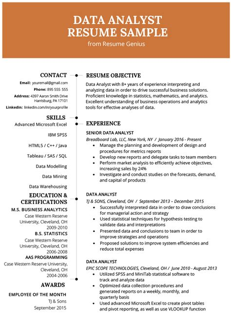How To Write A Resume For A Exle mining resume sle text mining 101 mining information
