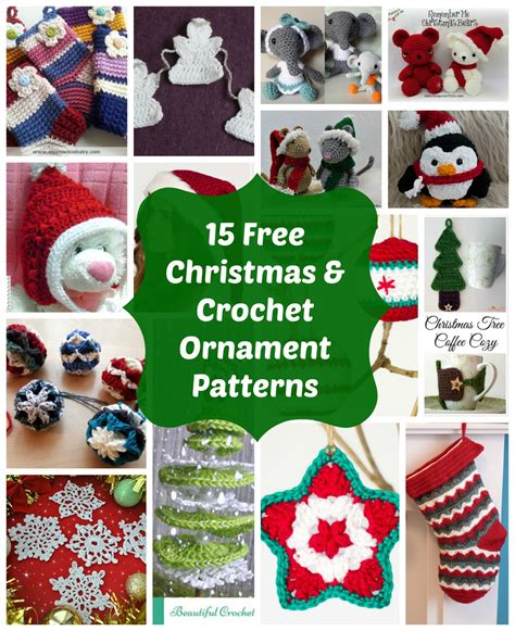 loved  crochet christmas ornaments  holiday