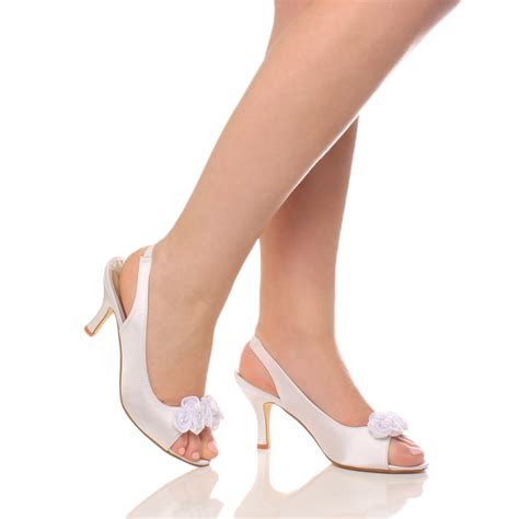 wedding shoes low heel womens wedding bridal prom shoes low heel 1126