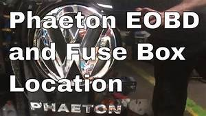 Vw Phaeton Eobd Obd And In Car Fuse Box Location V10 2004 Volkswagen