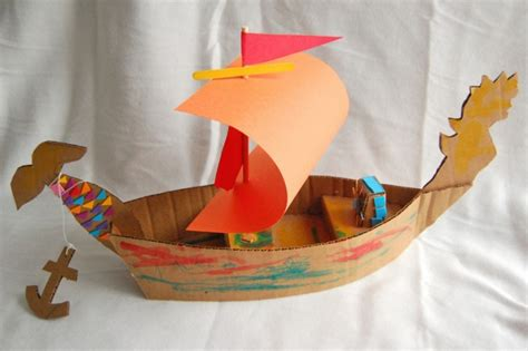 cardboard upcycled kids toys upcycle art