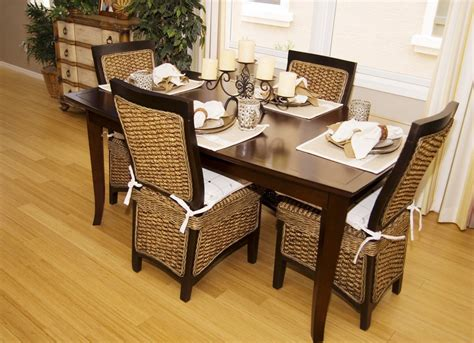 rattan kitchen furniture how to repair rattan dining chairs loccie better homes