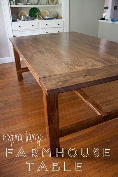 home farmhouse dining table  big