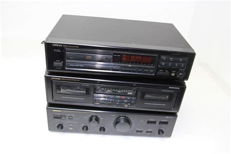 Cassette Cd Player by Onkyo Cd Player Cassette Deck Wireless Remote