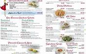 FREE 6+ Salad Menu Samples in PSD   AI   EPS Vector   Examples