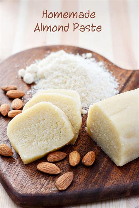 homemade almond paste almond paste baking dutch recipes