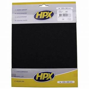 Papier Abrasif Carrosserie : papier abrasif sec hpx p80 x 4 feu vert ~ Melissatoandfro.com Idées de Décoration
