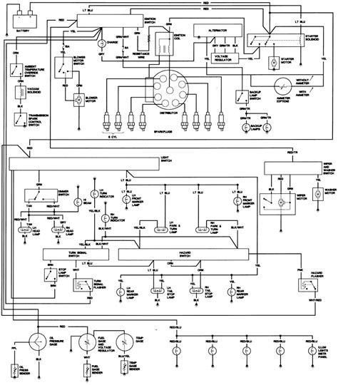 Cj7 Headlight Switch Wiring Diagram by Cj7 Wiring Diagram Best Wiring Diagram