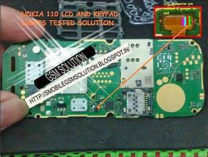 Nokia 110 Lcd Light Solution By Jumpering