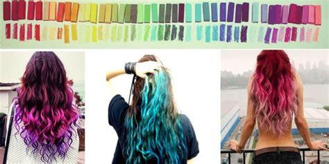 Rainbow Hair Chalk Hair Tint Hair Stain Ombre Hair
