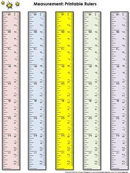 ruler measurement tools printable rulers  inches