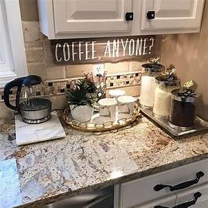 9, Diy, Coffee, Bar, Ideas, And, Inspiration, At, Home, Decoration