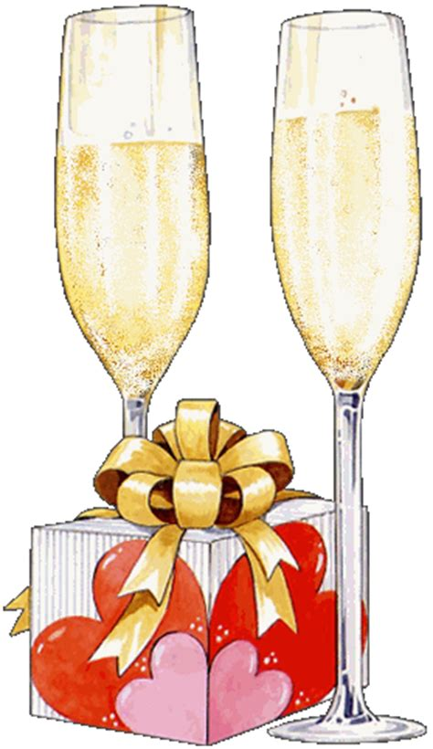 clipart brindisi buon compleanno