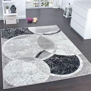Wohnzimmer Teppich Grau : designer teppich wohnzimmer teppich kreis muster in grau creme preishammer wohn und ~ Whattoseeinmadrid.com Haus und Dekorationen