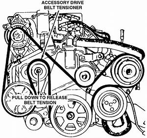 Can Anyone Show Me The Fan Belt Diagram For A Dodge