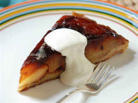 creme fraiche cuisine tarte tatin with crème fraîche recipe andrew zimmern