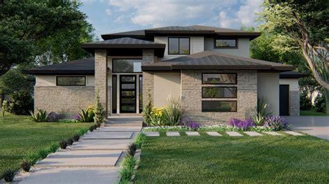 Hillside Two Story House Plan