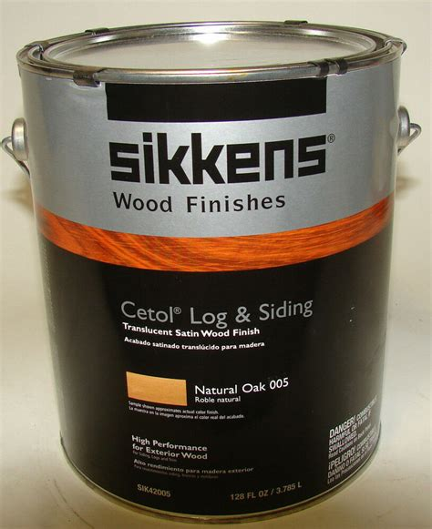 sikkens cetol log siding natural oak   gallon ebay