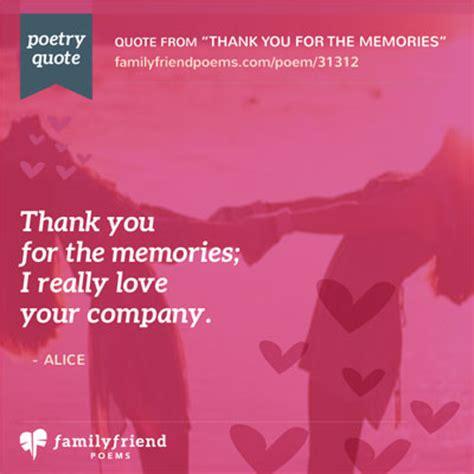 memories   friend poem